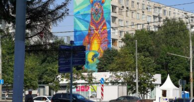 Солнечнодольск — город муралов